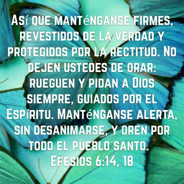 Efesios 6:14-18
