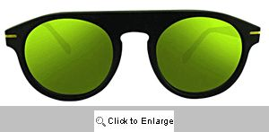 Road Racer Aviators Sunglasses - 562 Black/Yellow