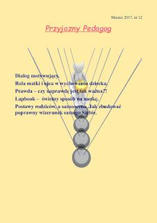 przyjazny pedagog : Przyjazny pedagog - Miesięcznik nowe marcowe wydan...