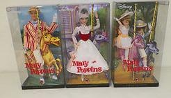 2007 Complete Set of Disney Mary Poppins Dolls. Hard to find all three.: Barbie S Dolls S, Poppins Dolls, Dolls Envy
