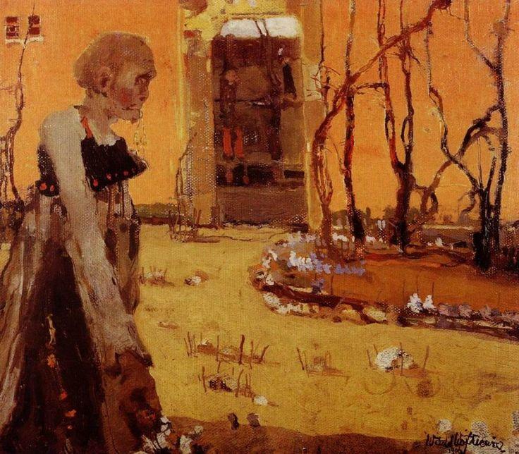 Witold Wojtkiewicz (1879-1909) Polish Artist ~ Fantasy, 1906