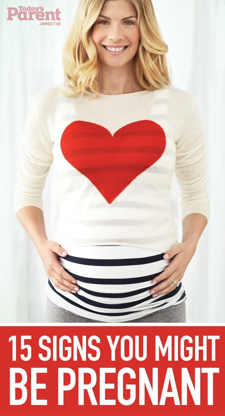 15 signs you might be pregnant