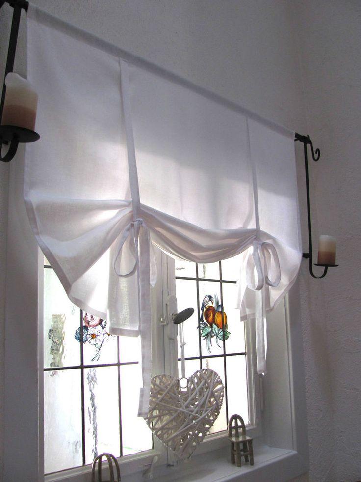 17 beste ideer om Gardinen Weiß på Pinterest Gardinen wohnzimmer - küchengardinen mit schlaufen