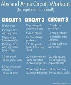 machine circuit workouts