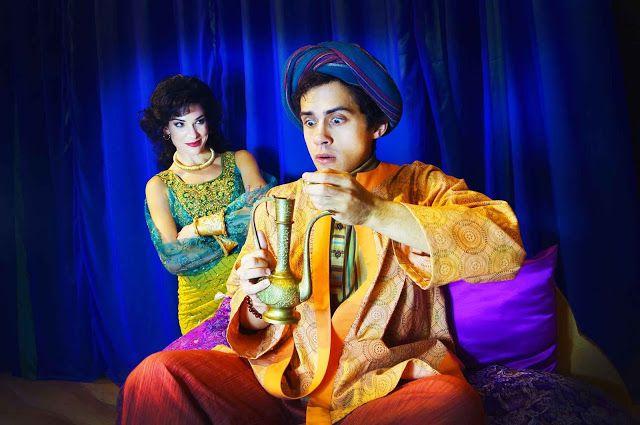 The Arabian Nights Come To Orlando Shakespeare Theater in Aladdin and the Magic Lamp