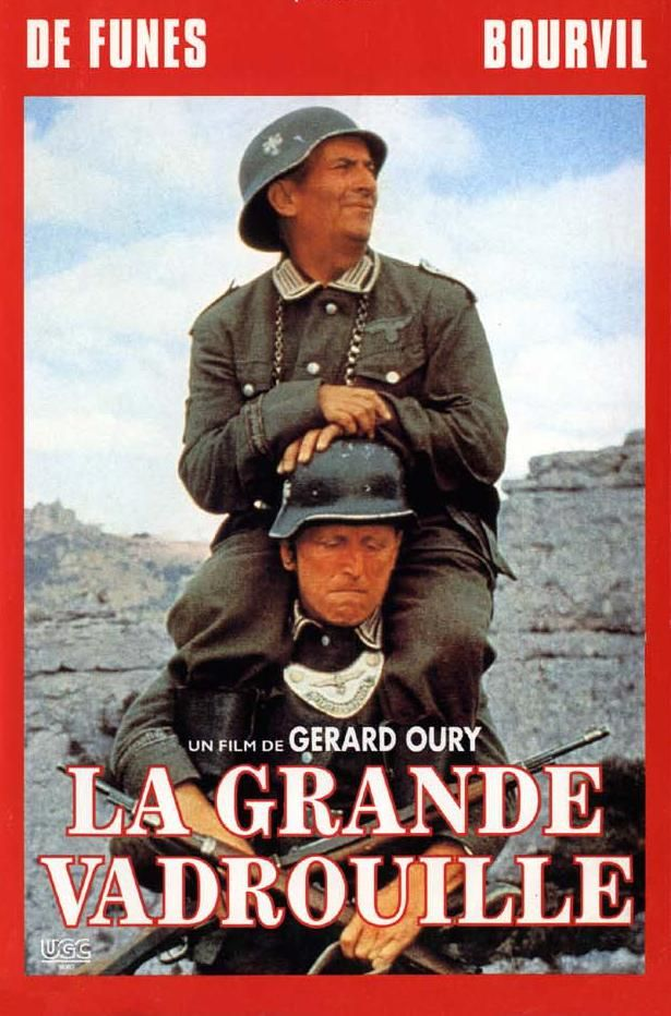 LA GRANDE VADROUILLE | Louis de Funès, Bourvil, Terry-Thomas, Marie Dubois, Claudio Brook, Mike Marshall