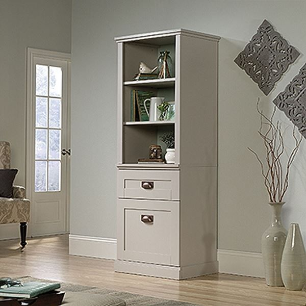 $275.00 New Grange Tall Cabinet Cobblestone * D by Sauder Woodworking is now available at American Furniture Warehouse. Shop our great selection and save!