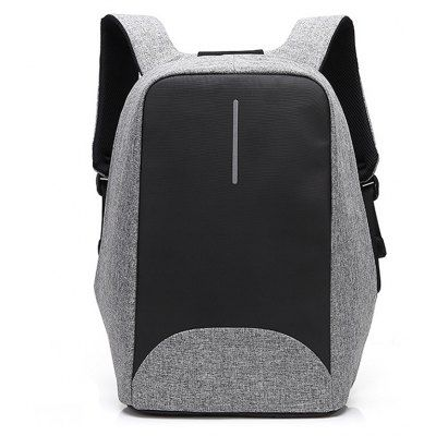 Just US$54.96, buy Men Business Water-resistant Nylon Laptop Backpack online shopping at GearBest.com Mobile.