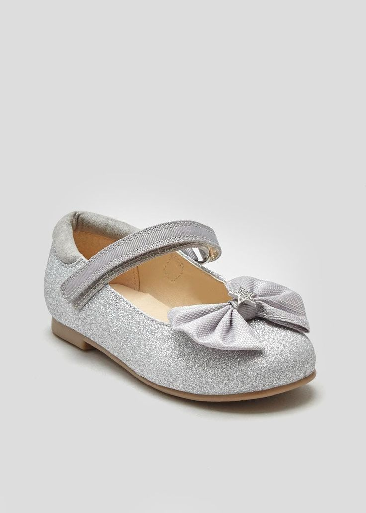 Girls Glitter Ballet Shoes (Younger 4-12)