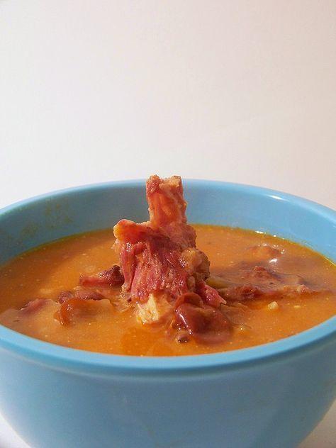 Hey, that tastes good!: Hungarian bean soup