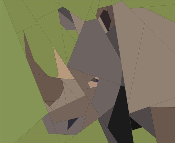 Rhino 2 - via @Craftsy