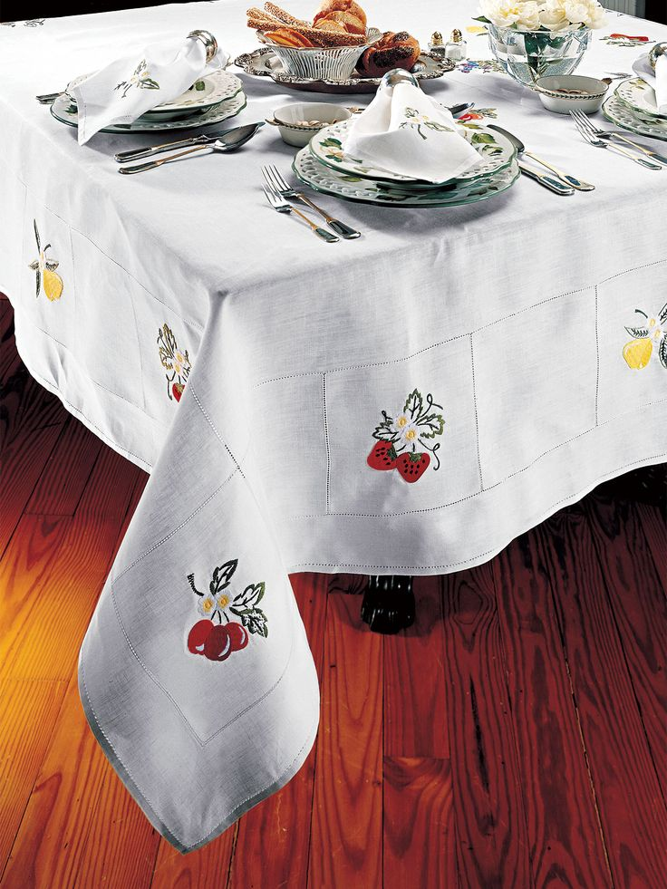 Best Thanksgiving Table Linens Images On Pinterest Table - Fine table linen