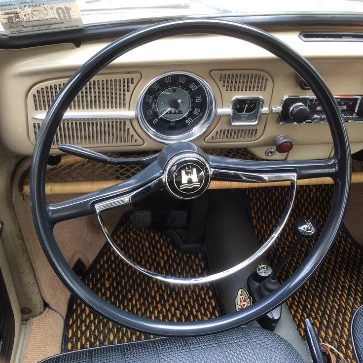 I've learned through process that proper steering wheel restoration is and art. How to do it the right way and achieve professional results is a question that fills my inbox weekly. I've been wanting to write this article for some time, and I just finished restoring my own wheel in our '67 Beetle, We're starting to offer this as a restoration service to our customers. Here's some insight into how it's done.