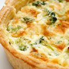 Een heerlijk recept: Quiche met broccoli en gerookte zalm