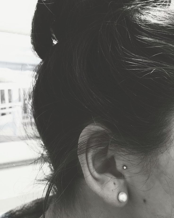I kinda want to get a Tragus piercing, but afraid of the healing process haha...