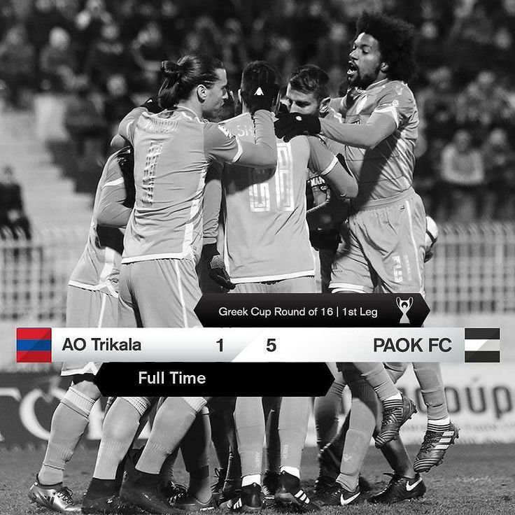 #AOTPAOK 1-5 #GreekCup