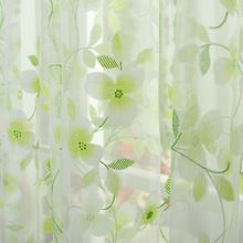 5 couleurs scraf Sheer expédition Voile portes et fenêtres rideaux drapé Panel Valance rideaux() sur http://fr.aliexpress.com/