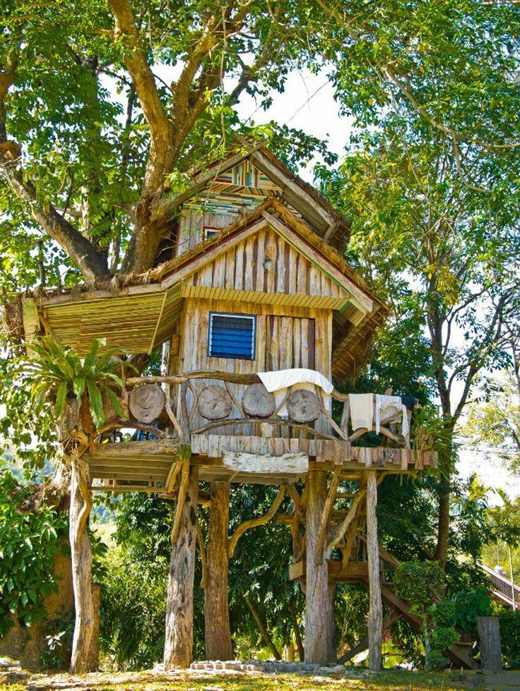 30 wonderful tree houses for children