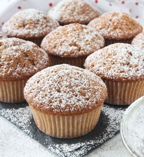 Fluffiga, supersaftiga, läckra pepparkaksmuffins!