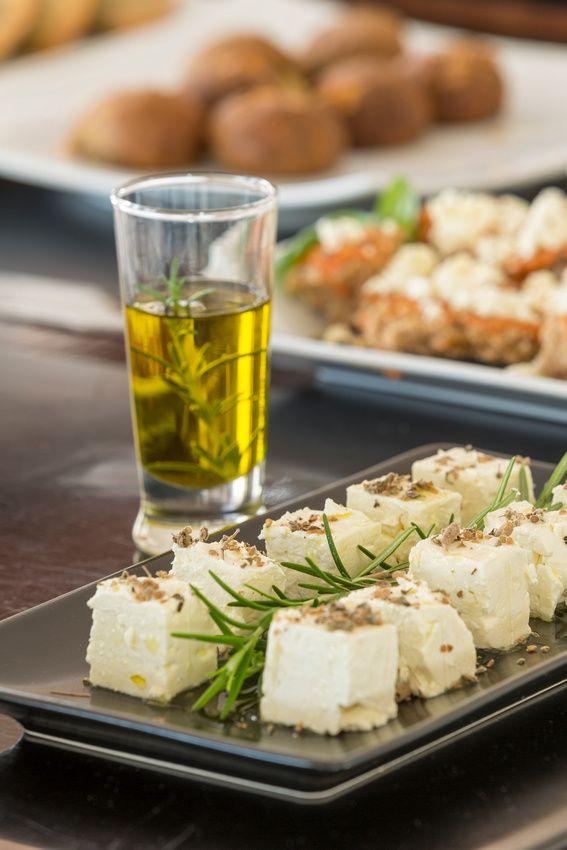 Breakfast at Elounda Gulf Villas prepared only with local Cretan products!