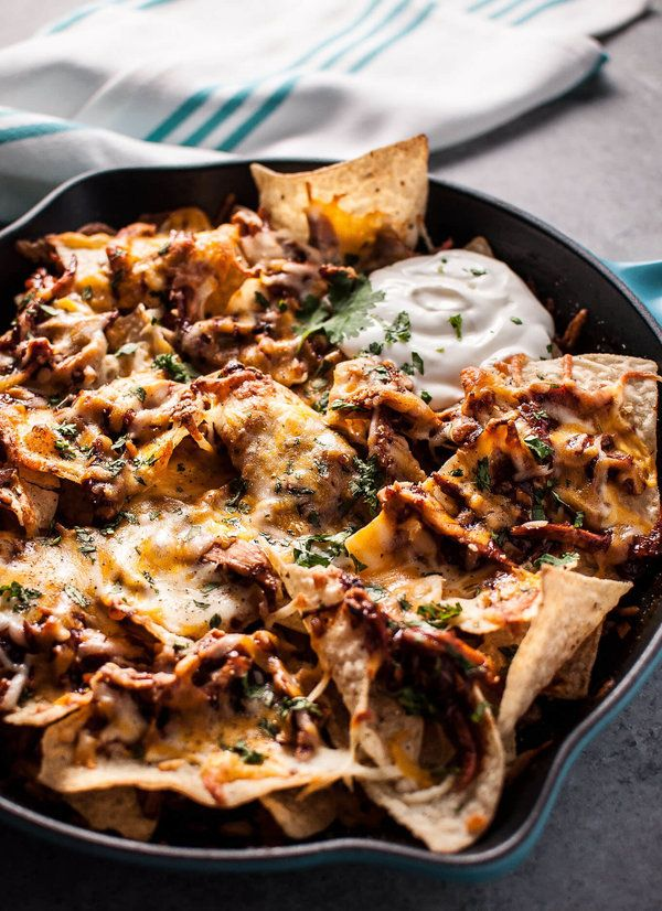 The Skillet Nachos That'll Make All Your Melted Cheese Dreams Come True