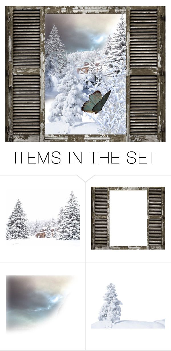 """Winters Butterfly..."" by maryv-1 ❤ liked on Polyvore featuring art"