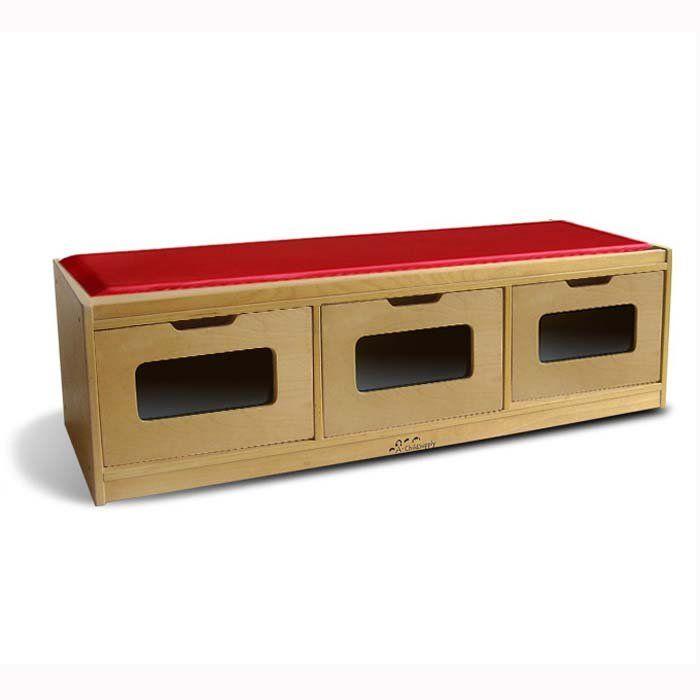 Children S Bench Storage Unit With Drawers