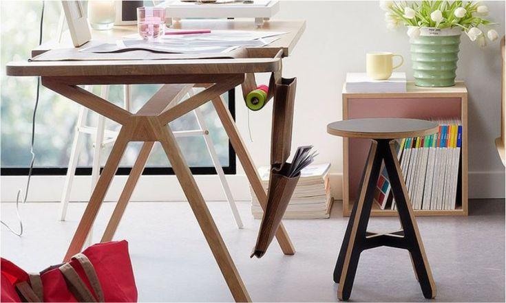 Стильная мебель в духе минимализма от компании Wewood