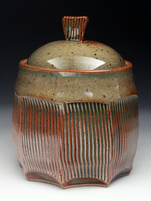 Marise Fransolino Lidded Jar at MudFire Gallery