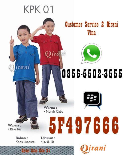 Qirani Koko Kids 01 SMS/Telp: 0852 1752 6877 Whatsapp: +6285217526877 BBM: D01CB842