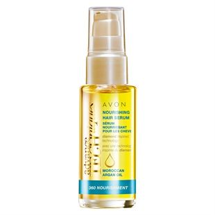 Advance Techniques 360 Nourishment Moroccan Argan Oil Nourishing Hair Serum - One of my favourite hair products! Smells like holiday in a bottle and leaves my hair so soft!
