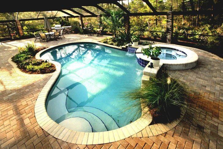 30 Fascinating Small Inground Pool Ideas For Your Backyard