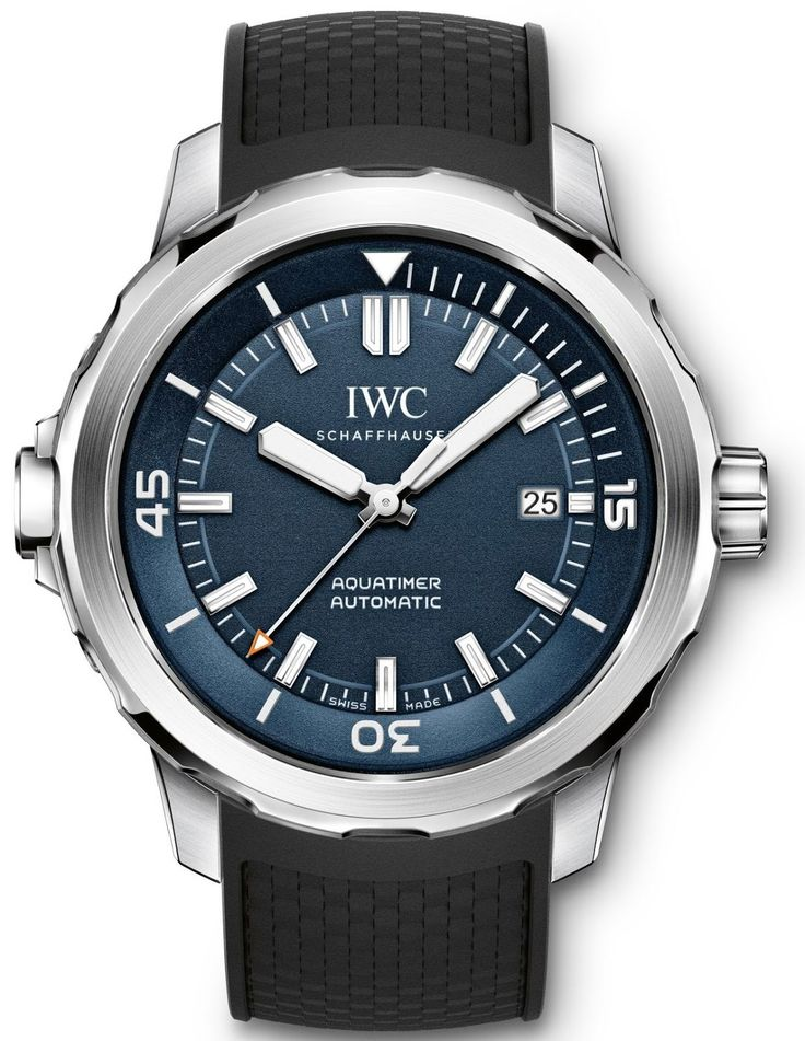 """Master Horologer: IWC Schaffhausen Aquatimer Automatic Edition """"Expedition Jacques-Yves Cousteau (Ref. IW329005)"""