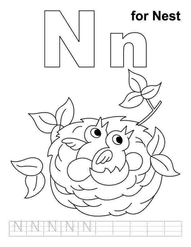 Pin On Letters And Alphabet Coloring Pages