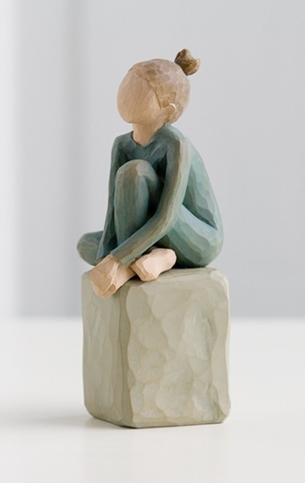 """Willow Tree® The Dancer Figurine - """"Creative expression comes from within."""""""