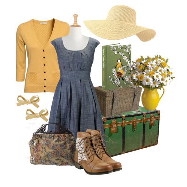 """Anne Shirley"" by jamiethornton78 on Polyvore"