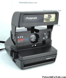 Polaroid 636 Autofocus - Rare