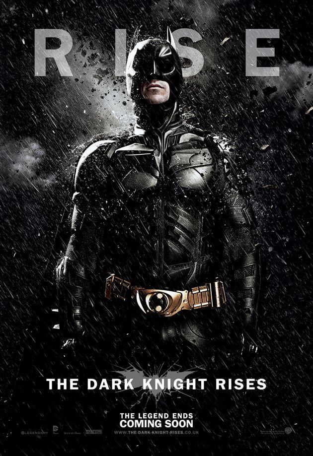 The Dark Knight Rises Batman Poster. #TheDarkKnightRises #poster #batman