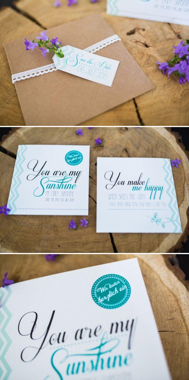 Sommerliche Hochzeitspapeterie von MarryMe Design   Hochzeitsblog Hochzeitswahn – Sei Inspiriert!