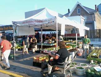 DeVries Fruit Farm - List of Area Farmers' Markets