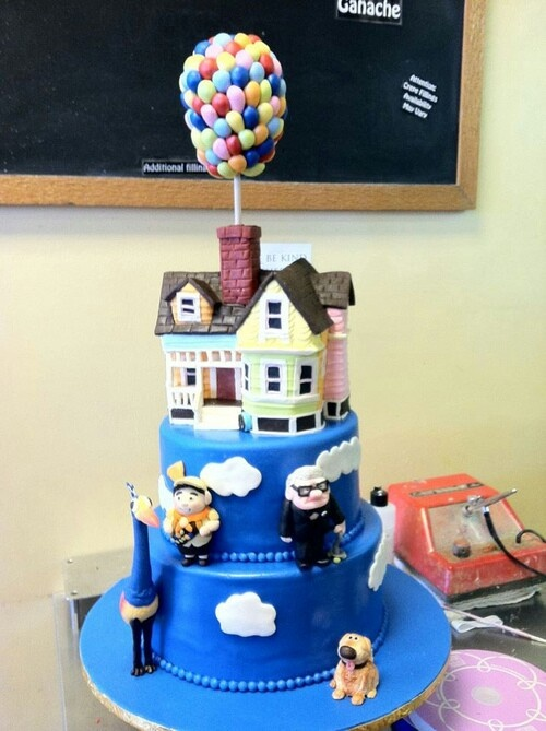 25 Best Ideas About Disney Up Cake On Pinterest Carl