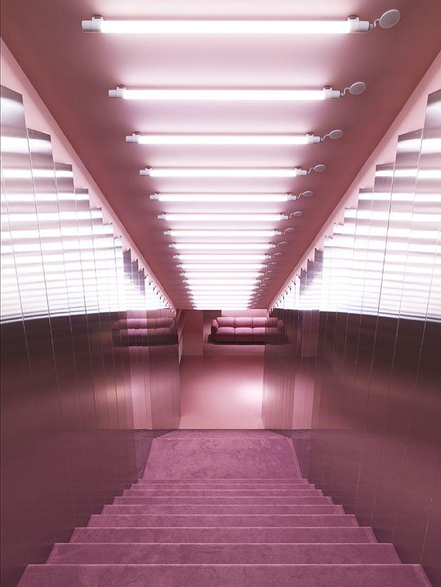 Step inside the pink palladium