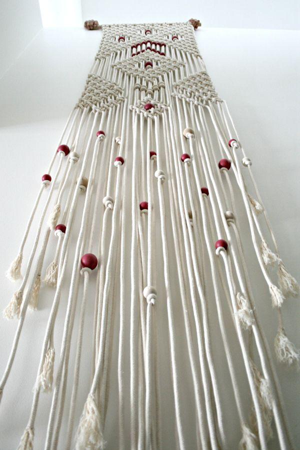 The Knot Studio |  Diamond Rain Macrame Wall Hanging