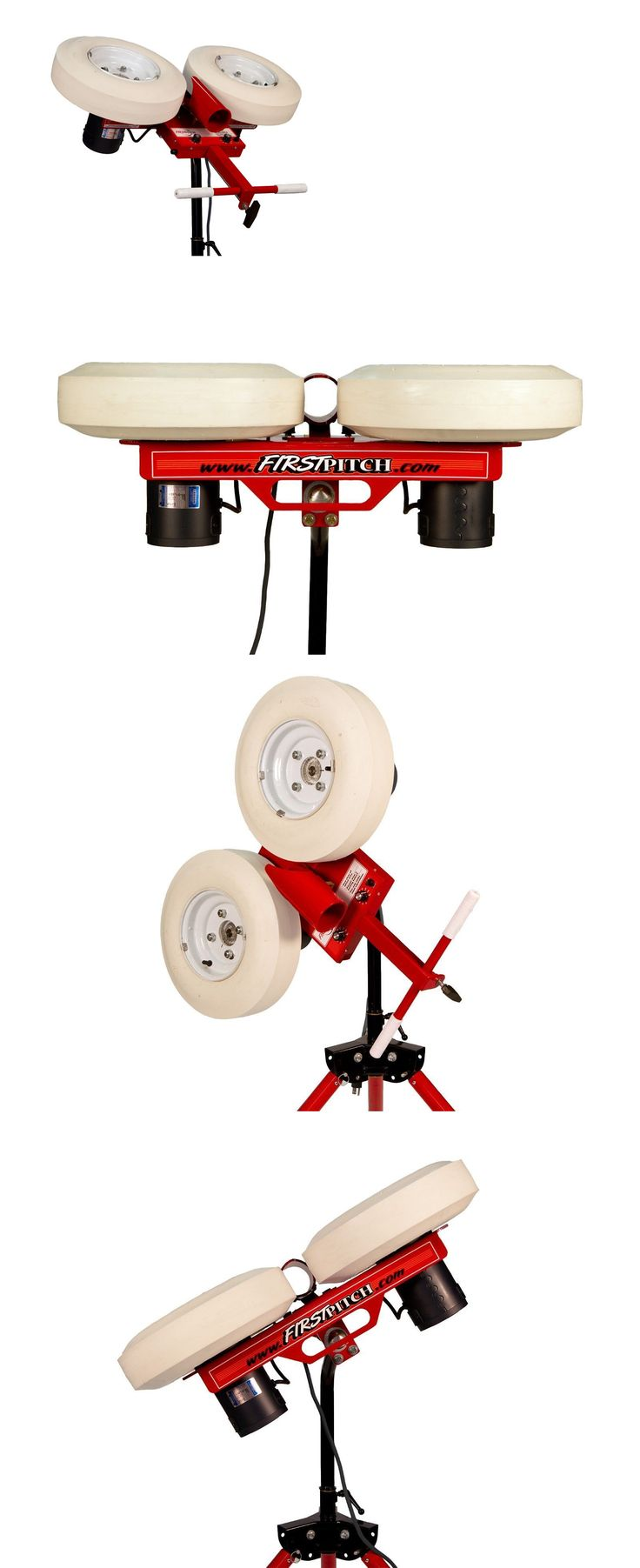 Pitching Machines 58061: Two Wheel First Pitch Curveball Softball Pitching Machine First Pitch Curve Rise -> BUY IT NOW ONLY: $1599 on eBay!