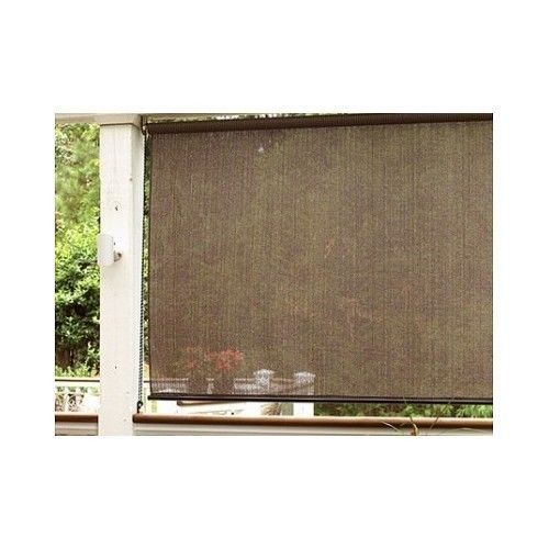 Patio Porch Shade Outdoor 72 x 72 Deck Curtain Sunroom Blind Window Rollup Door