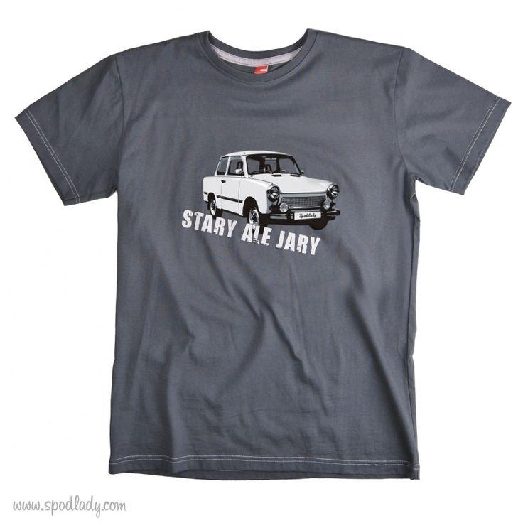 """Koszulka męska - """"Stary ale jary"""" :: Spod Lady - retro prezenty"""