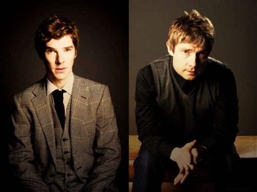They are SO FREAKING ADORABLE! <3 <3 <3 <3: Sherlock Bbc, Freak Adorable