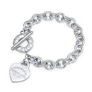Tiffany and Co toggle heart bracelet -