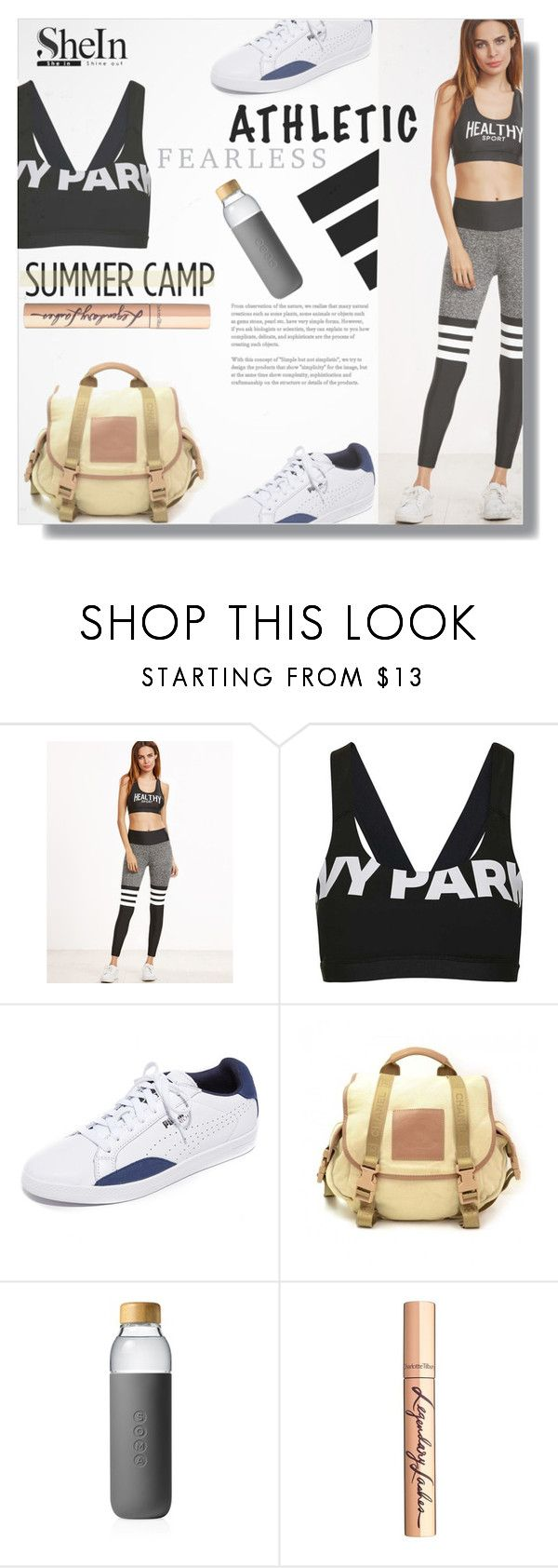 """""""Untitled #1648"""" by kriz-nambikatt ❤ liked on Polyvore featuring Topshop, Puma, Chanel, adidas, Soma and Charlotte Tilbury"""