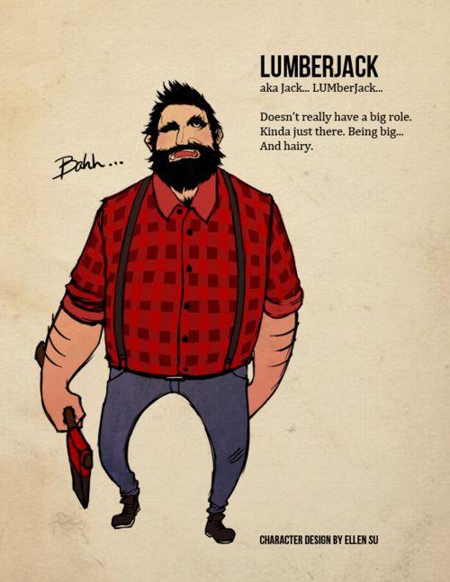 from Ellis cartoon gay lumberjack